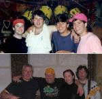 Line up - 1989 & 2015 reunion