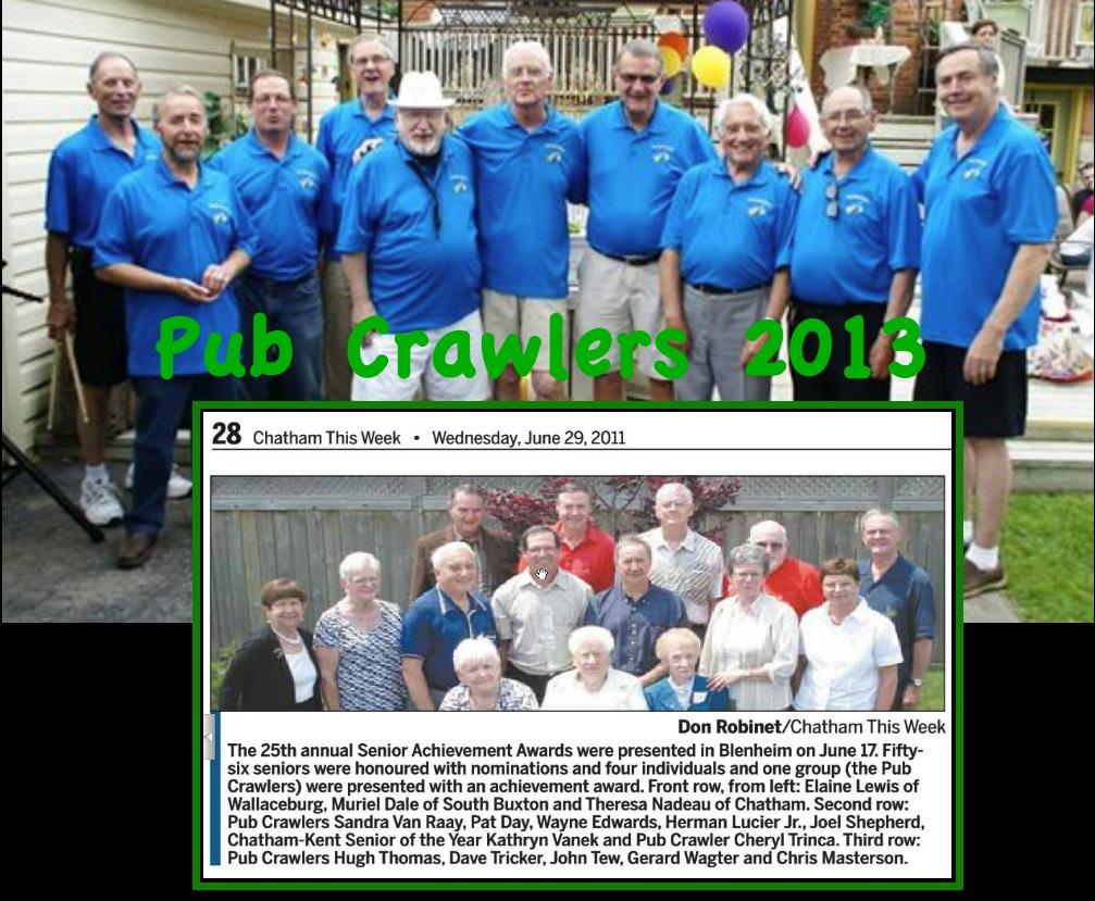 pub crawlers band